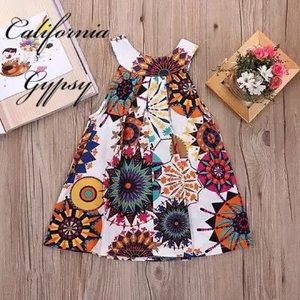 Other - Baby Hippie bohemian floral dress🌈